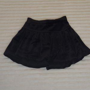 🎁Circo size 4T black velour skirt
